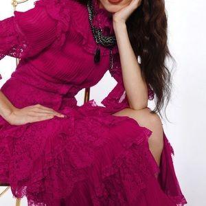 NWT Alice & Olivia Carmina Lace Dress Size 4